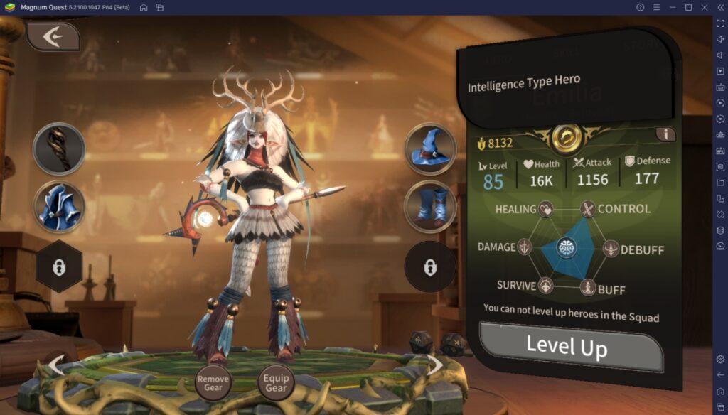 BlueStacks Leitfaden für Einsteiger zum Spielen von Magnum Quest