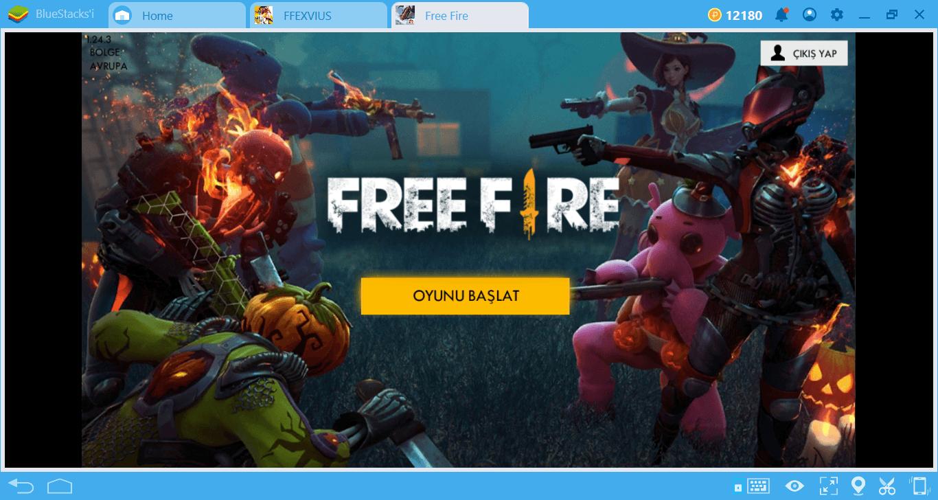 Oyun Kayıt Tuşu İle Free Fire Adalarını Fethedin