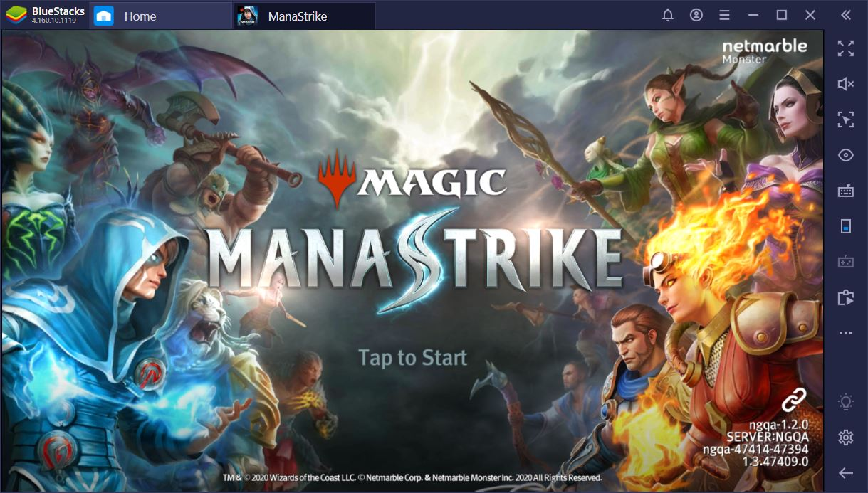 A First look at Magic: ManaStrike on PC