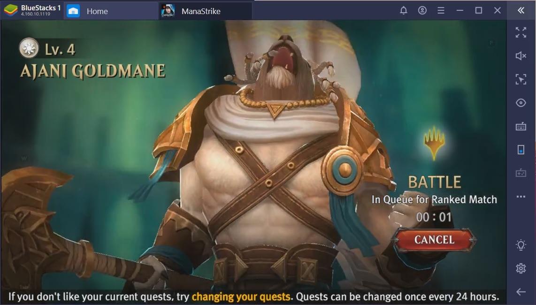 Magic: ManaStrike on PC – In-depth Guide to Ajani Goldmane