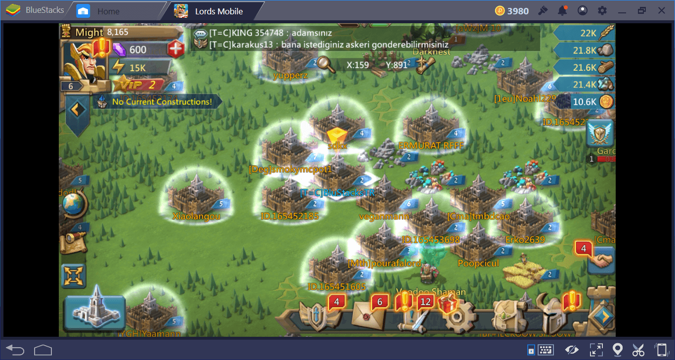 Making Lords Mobile Better With BlueStacks Multi-Instance