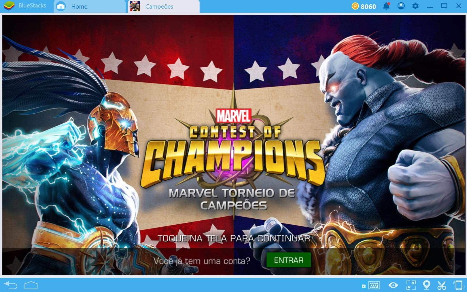 Comece a sua aventura em MARVEL Contest of Champions.
