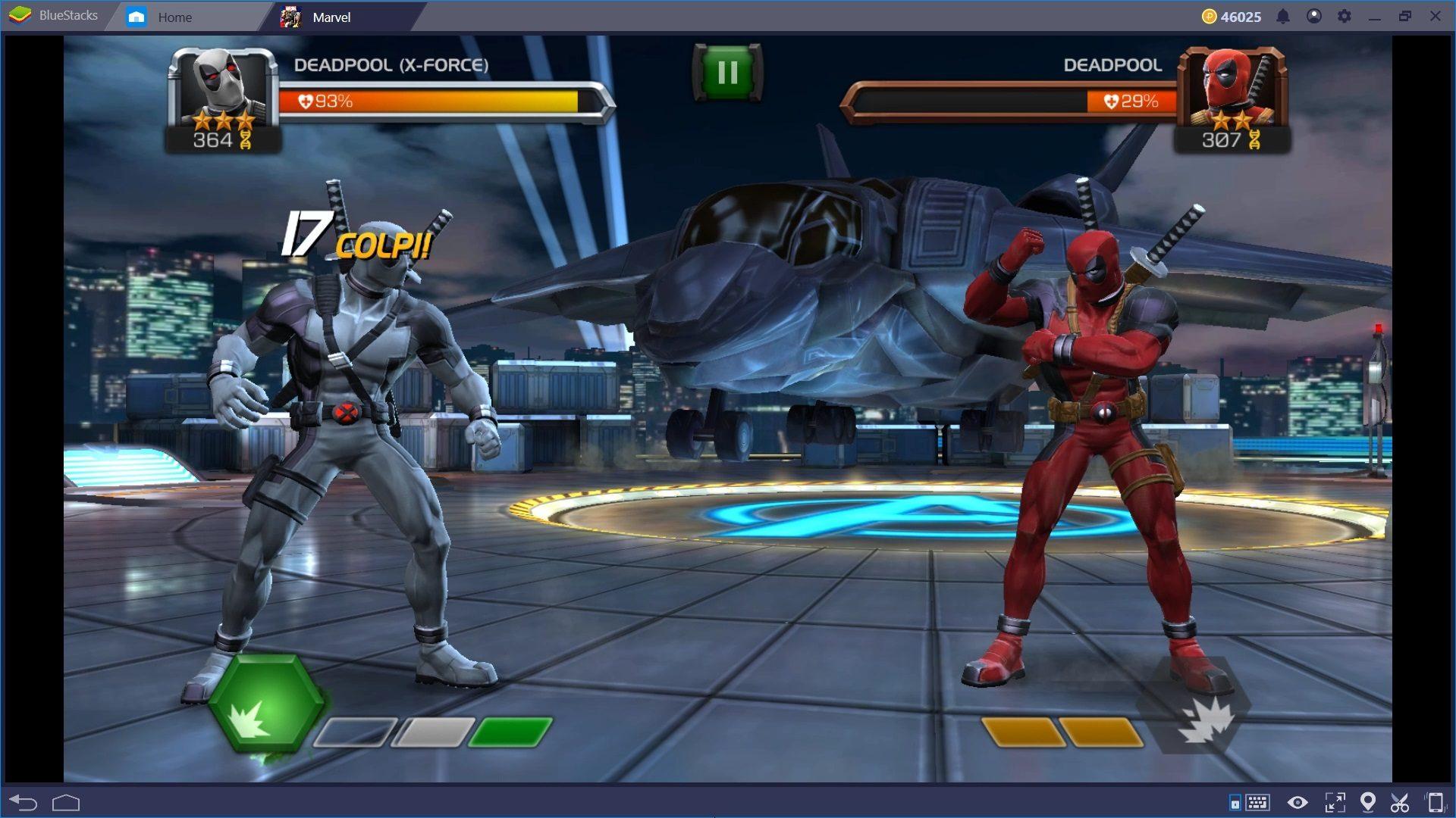I Segreti del Combattimento in Marvel Sfida dei Campioni