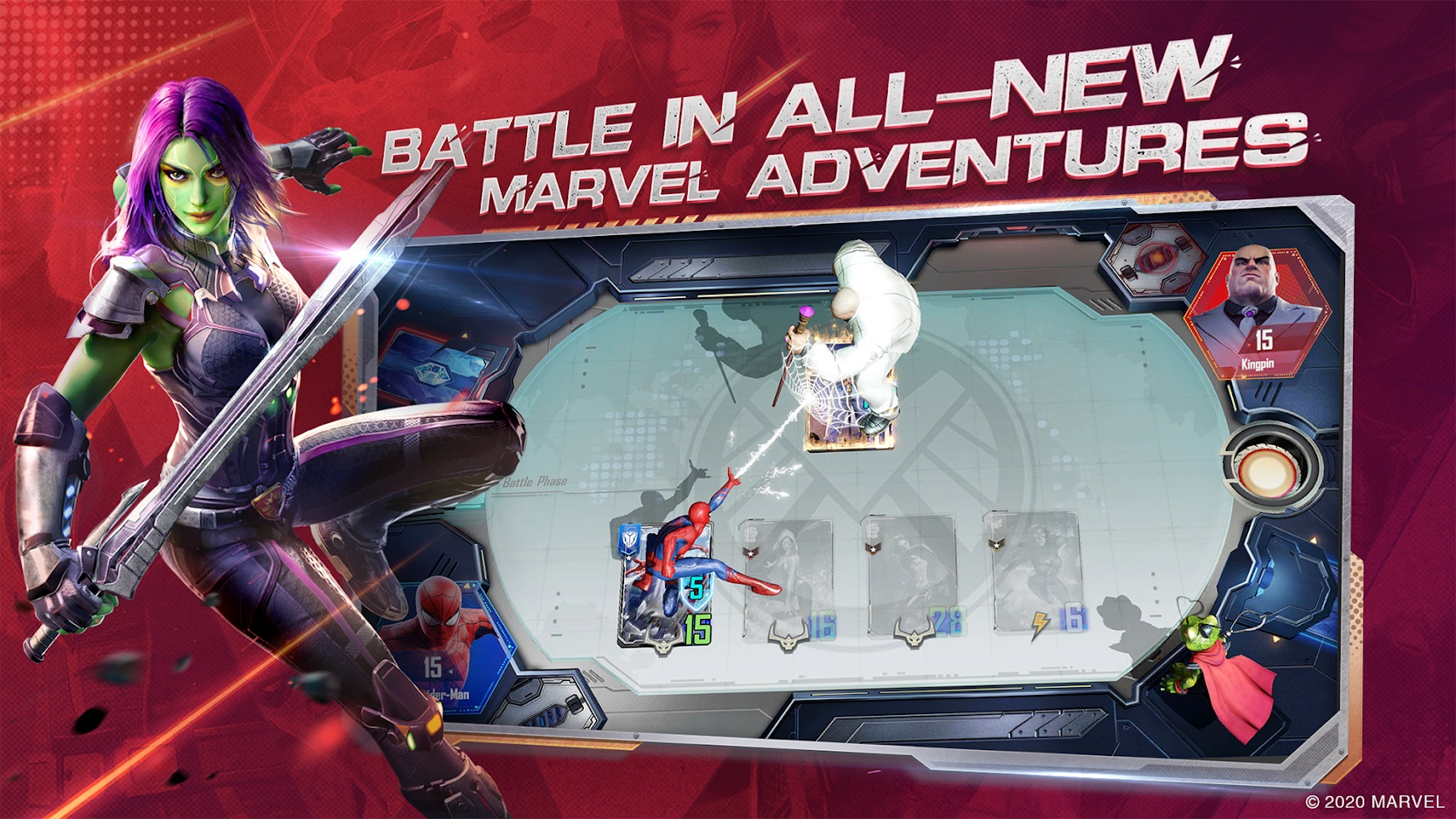 Marvel Duel to Enter Closed Beta in July
