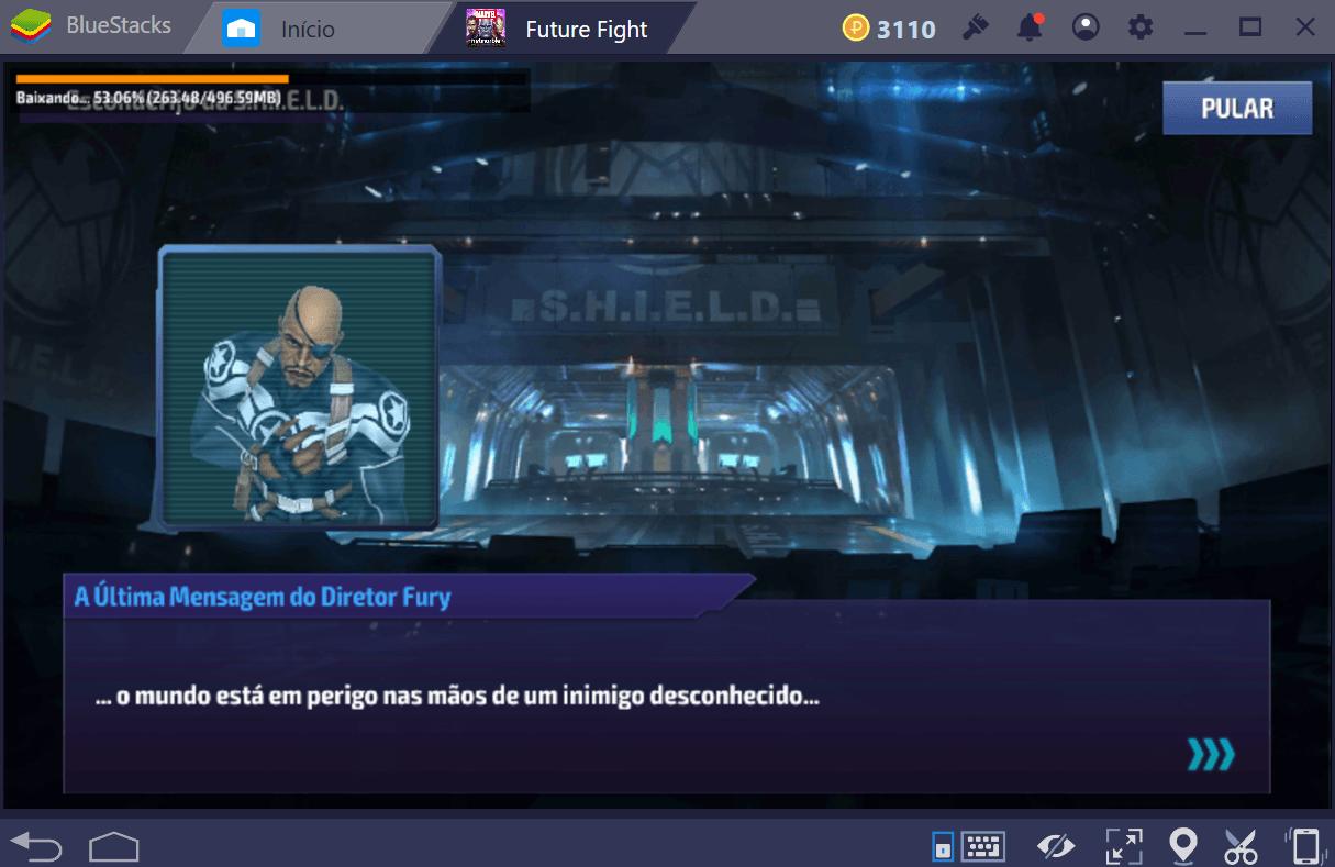 Mecânica de jogo de MARVEL Future Fight