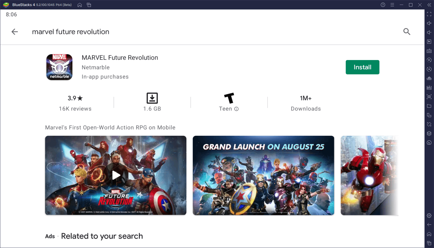 How to Play MARVEL Future Revolution on PC with BlueStacks