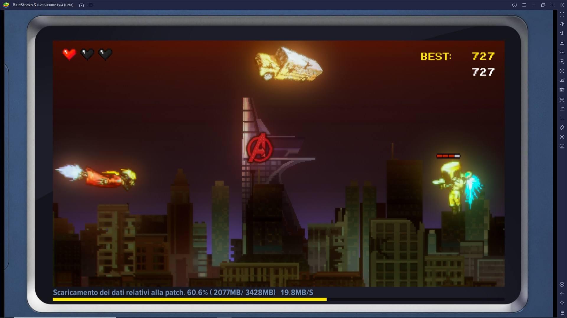 MARVEL Future Revolution è disponibile su PC con BlueStacks – Provalo subito!