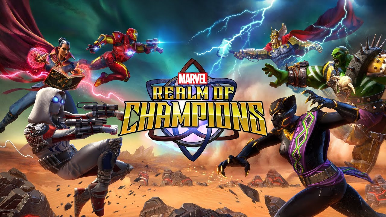MARVEL Realm of Champions Pre-Registrations Open