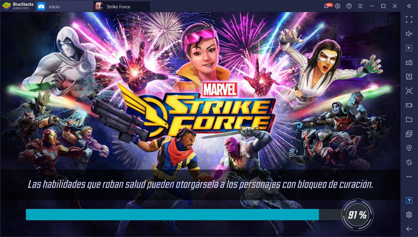 Marvel Strike Force Parche 5.1 – Detalles Sobre los Nuevos Personajes y Cambios a Sistemas