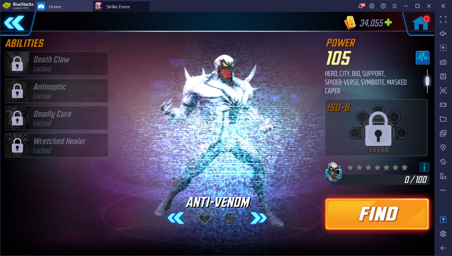 MARVEL Strike Force Halloween Update Introduces 'Anti-Venom' and Other Interesting Events