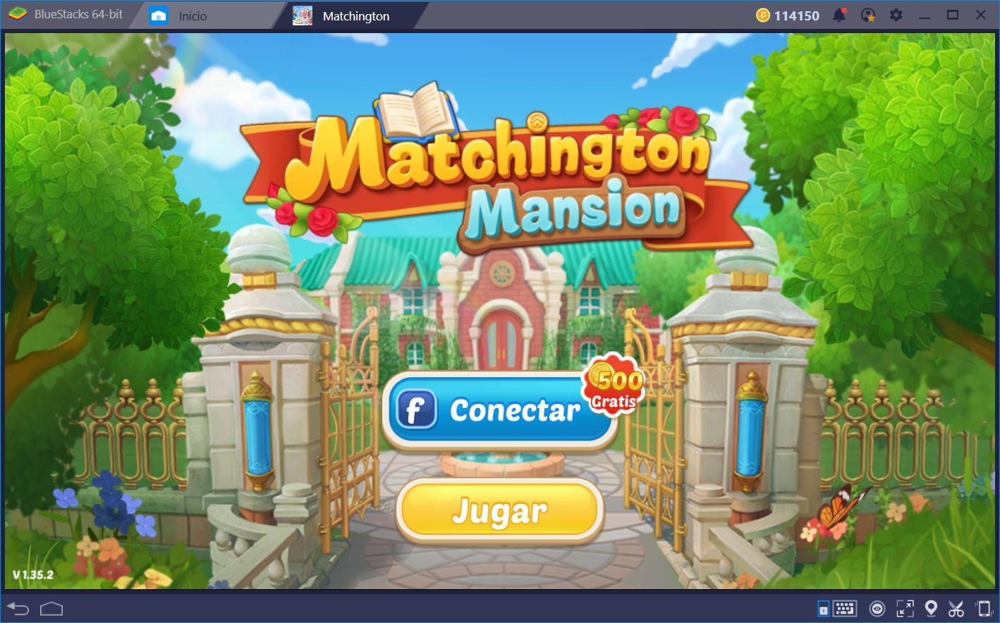 Matchington Mansion—Candy Crush Combinado con Juego de Remodelación de Interiores