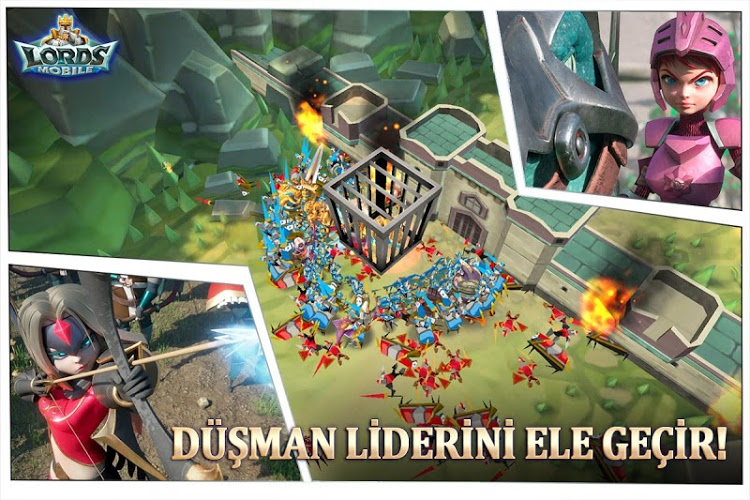 Lords Mobile İndirin ve PC'de Oynayın 5