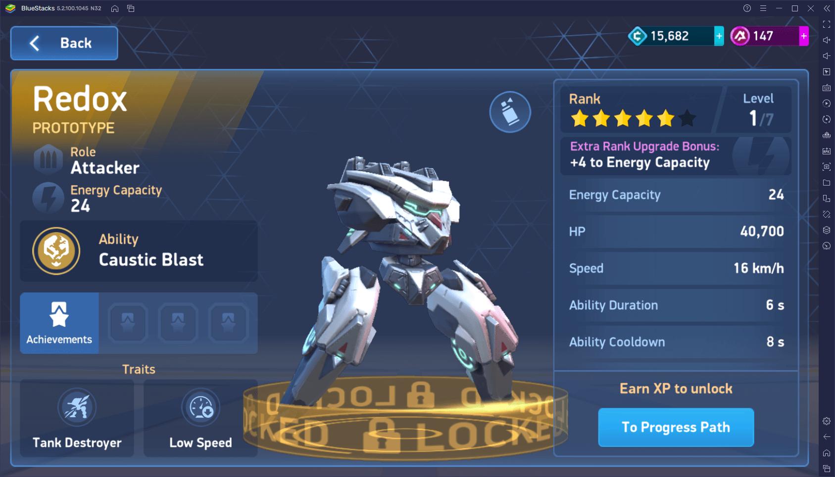 Mech Arena: Robot Showdown – wybór najlepszego Mecha