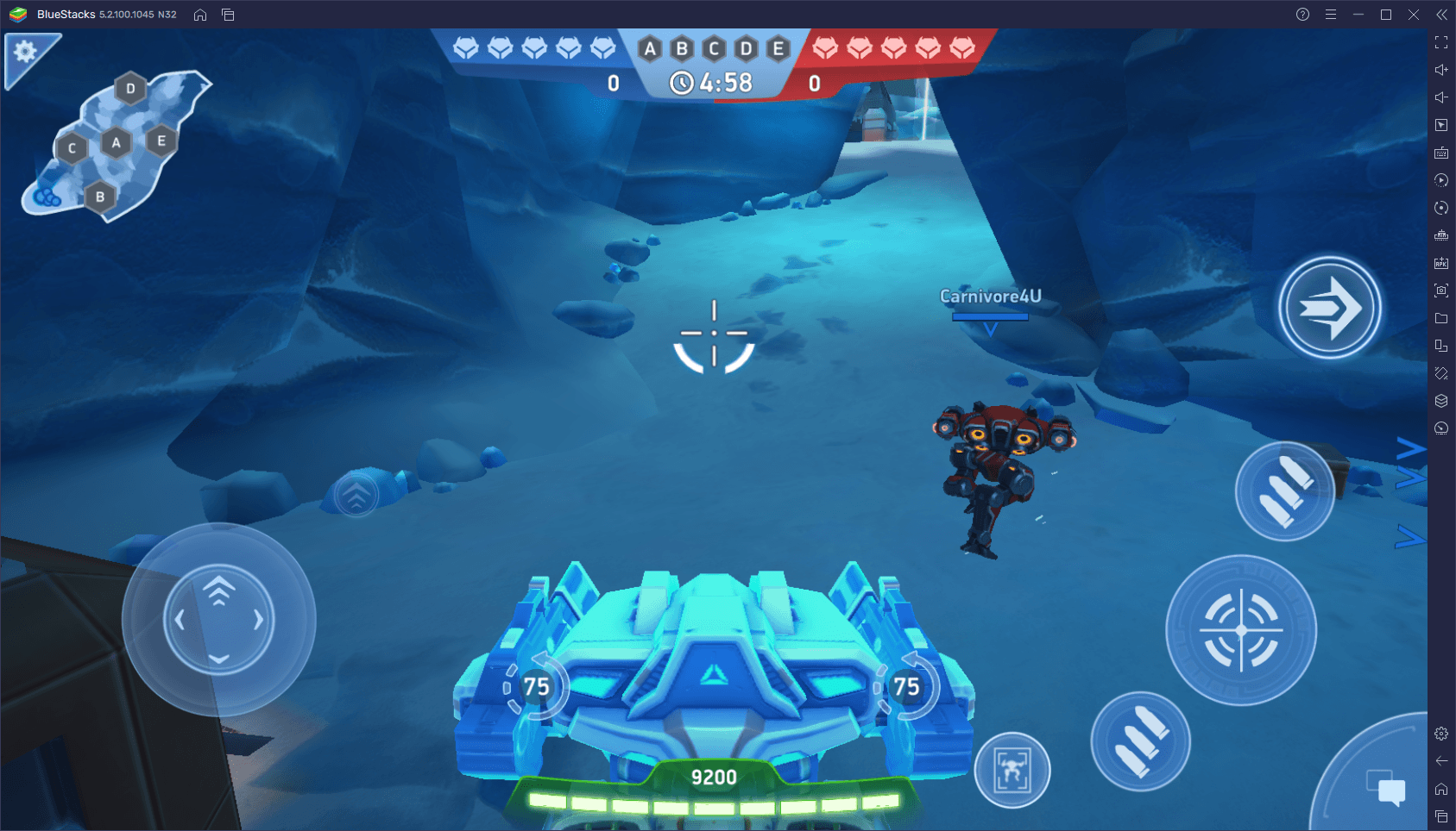 The Best Settings for Playing Mech Arena: Robot Showdown on PC with BlueStacks