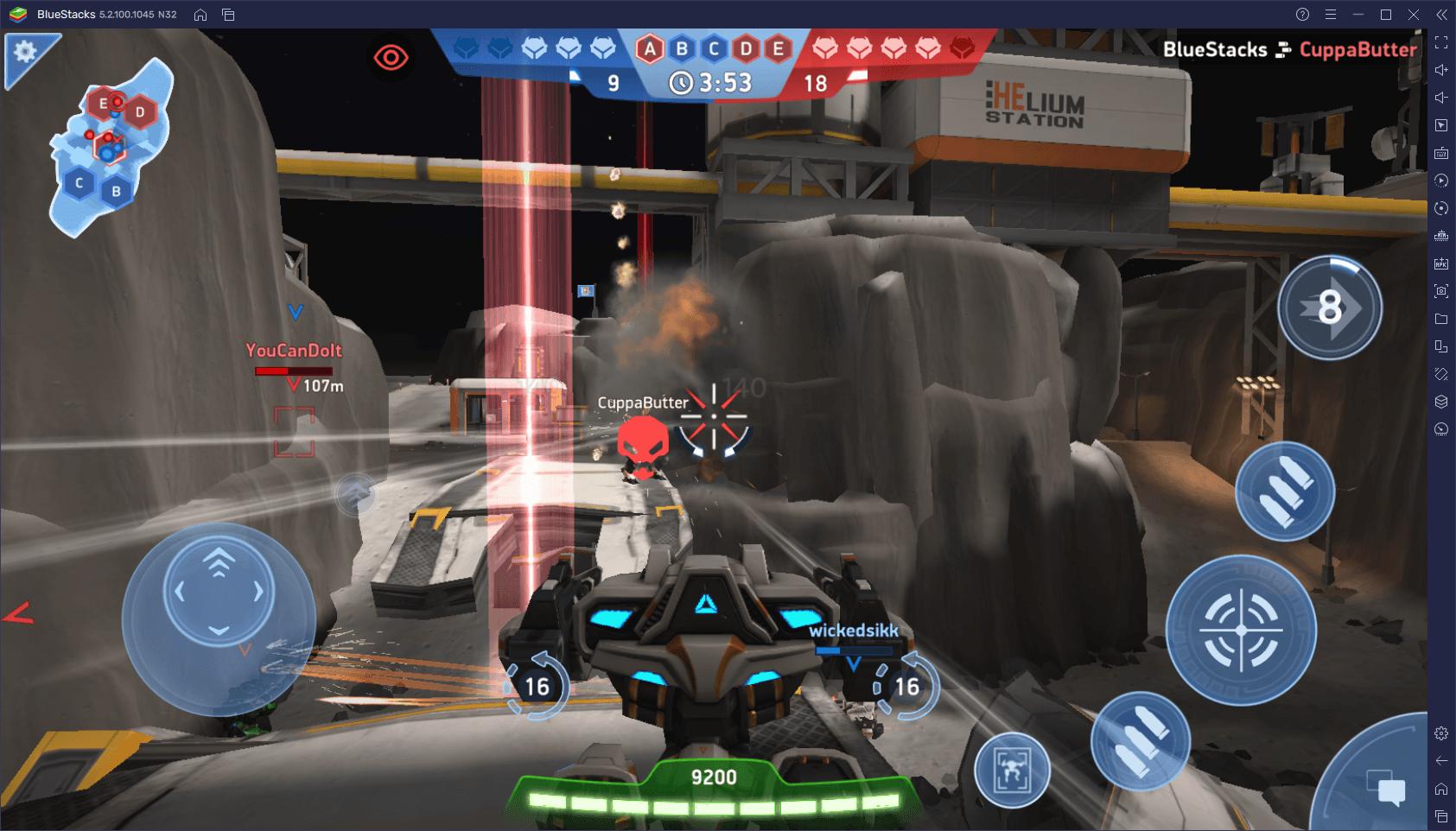 Los Mejores Ajustes Para Jugar Mech Arena: Robot Showdown en PC con BlueStacks