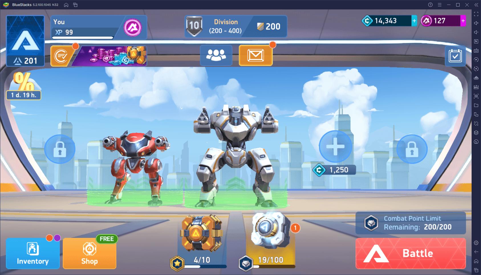 Mech Arena: Robot Showdown – Najlepsze ustawienia gry na PC z BlueStacks
