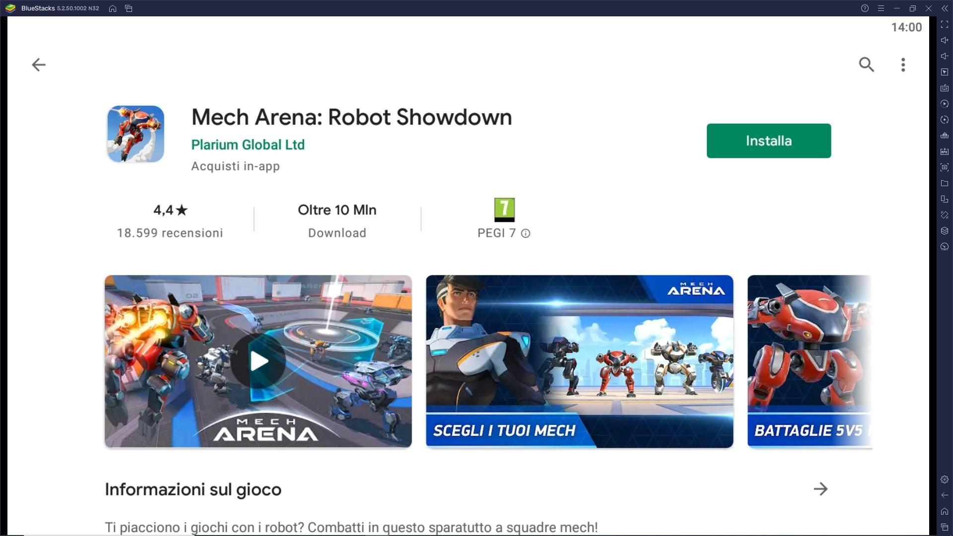 Gioca Mech Arena: Robot Showdown su PC con BlueStacks e preparati a competere