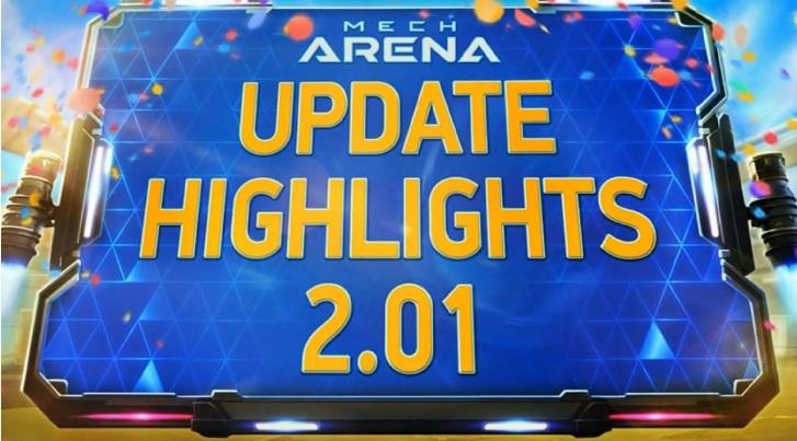 Mech Arena: Robot Showdown — главное про обновление 2.01