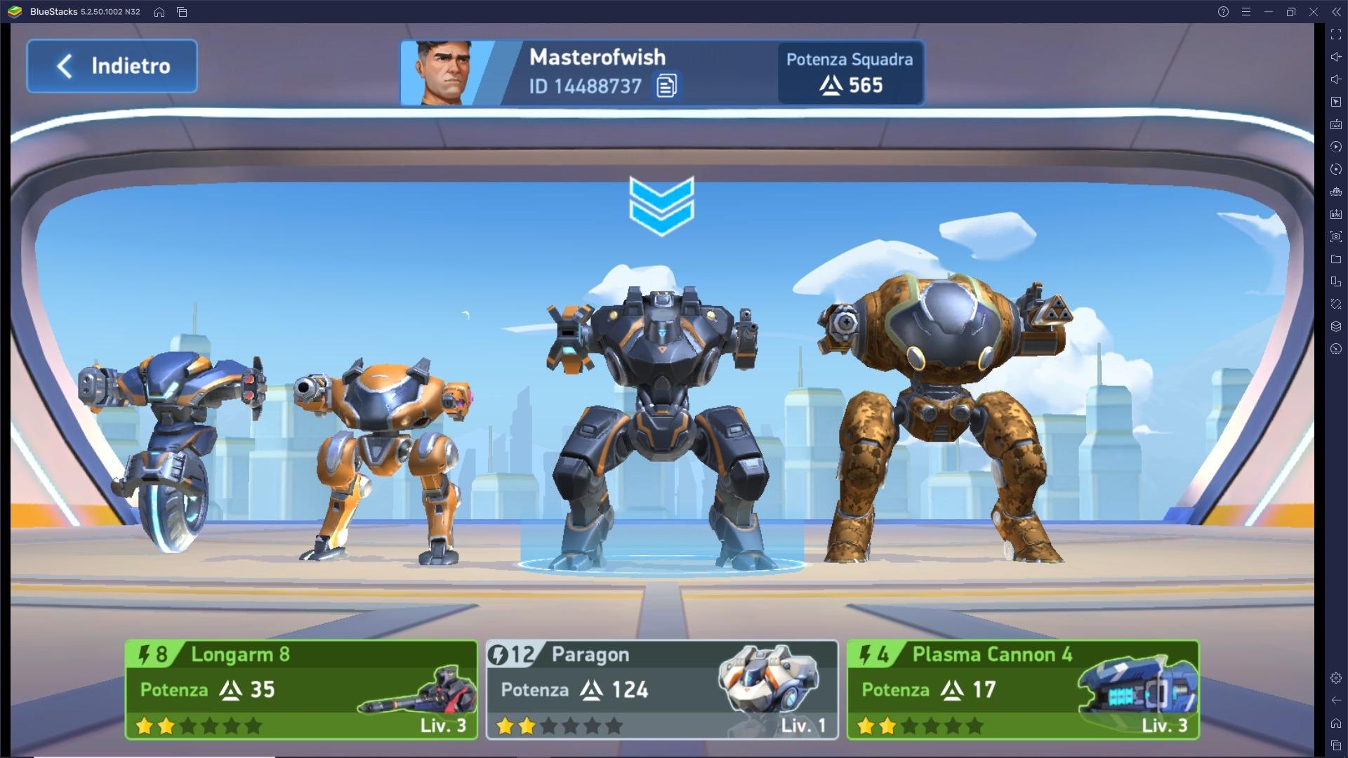 Informazioni e consigli utili per progredire in Mech Arena: Robot Showdown