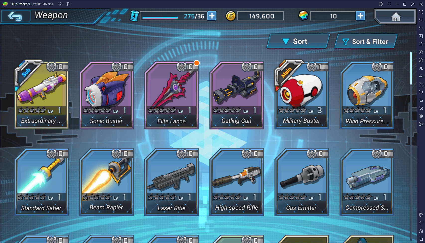 MEGA MAN X DiVE – MOBILE Weapon Tier List – The Best Weapons in Every Category
