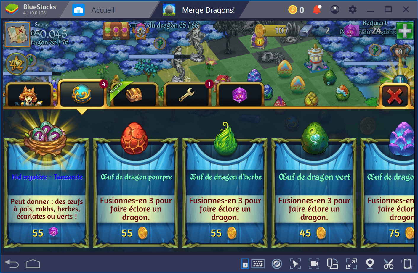 Merge Dragons : Guide pour devenir riche