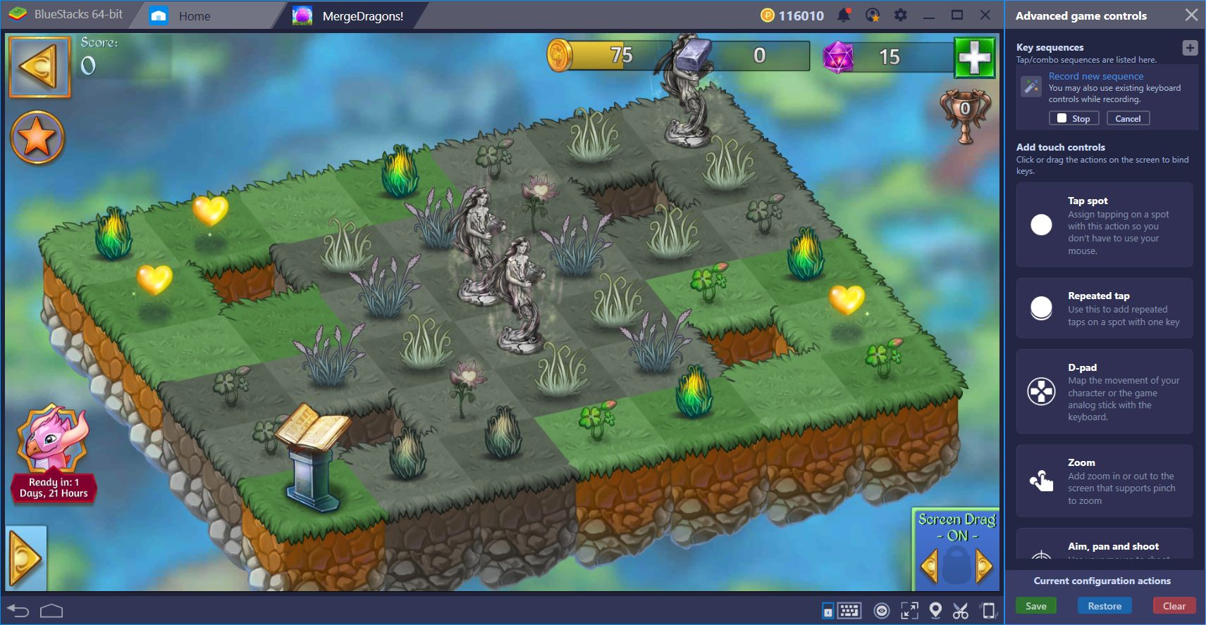 Merge Dragons on BlueStacks—Improve your Gameplay with our