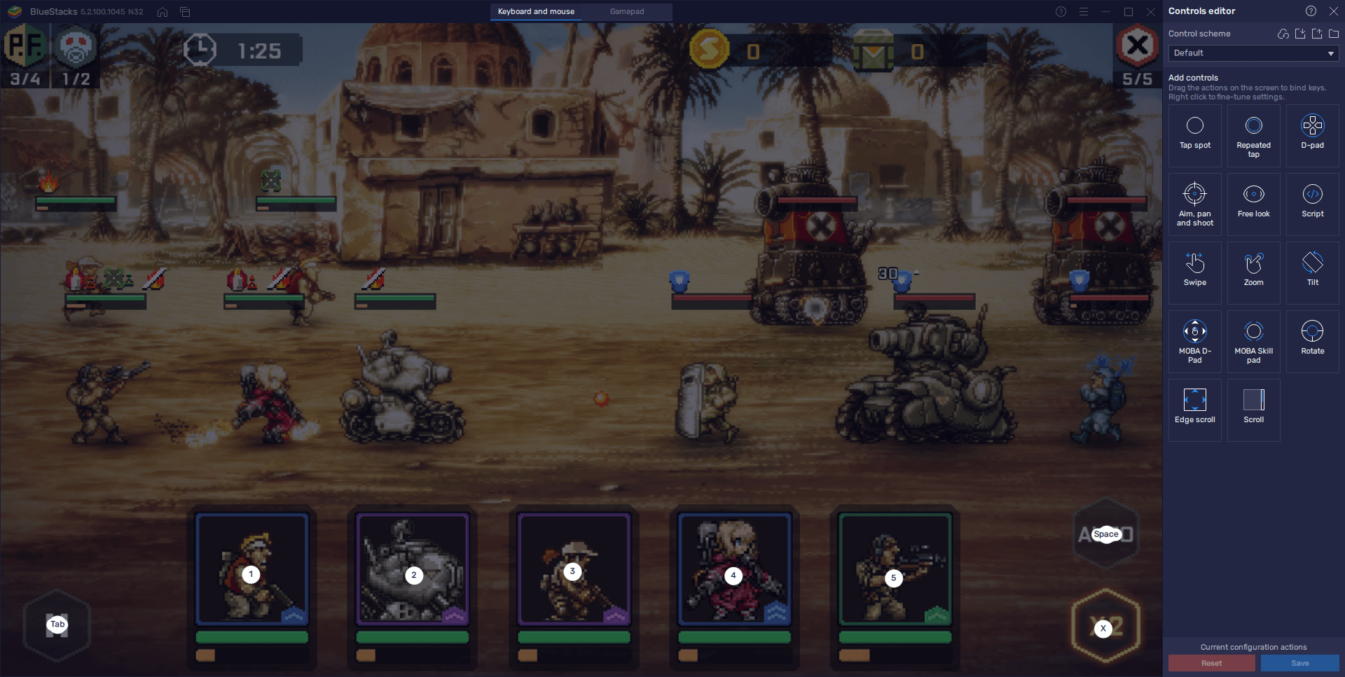 Metal Slug: Commander – How BlueStacks' Tools Can Help to Improve Your Game