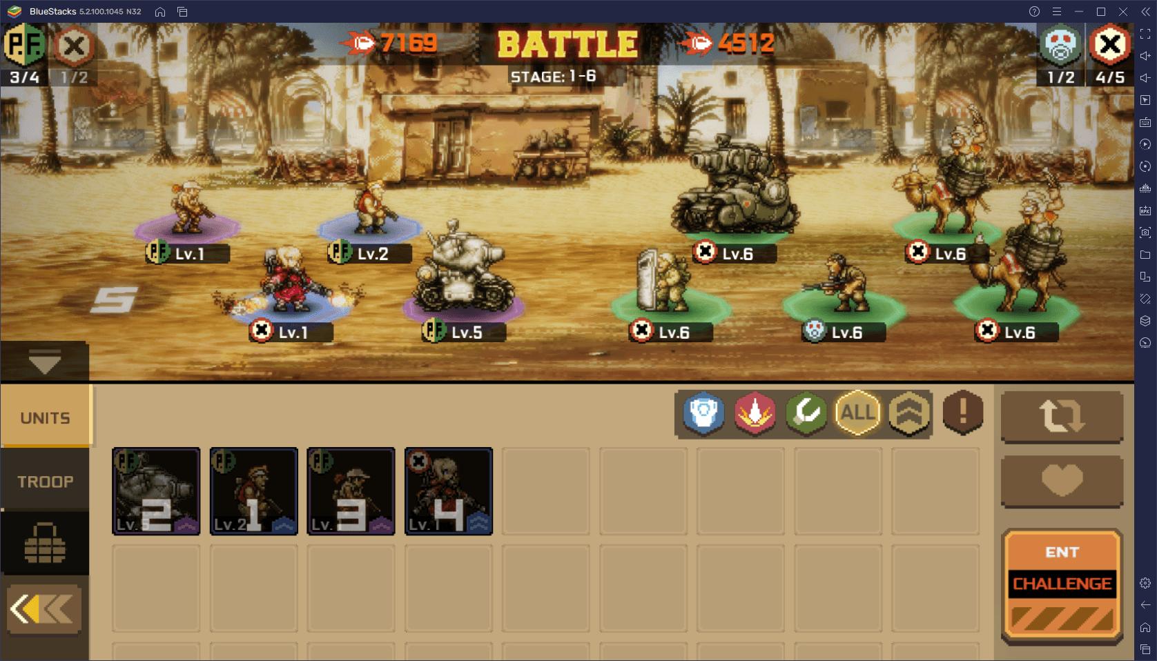 How to Play Metal Slug: Commander on PC with BlueStacks