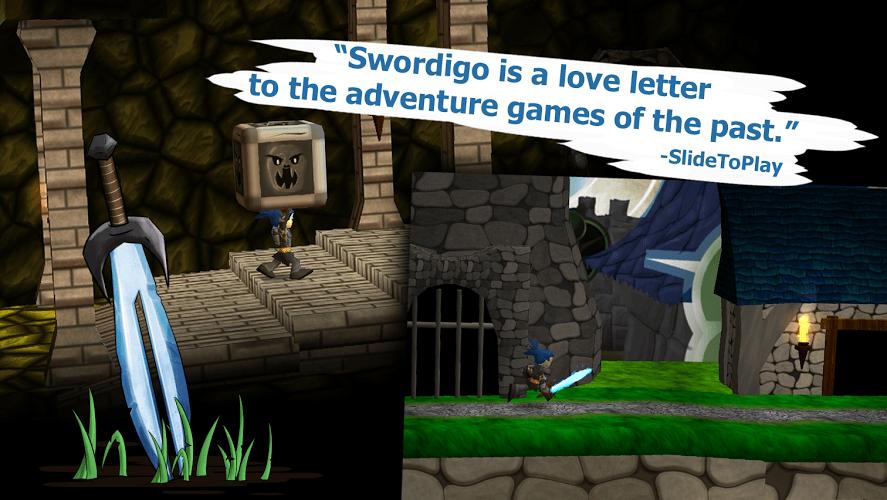Играй Swordigo На ПК 6