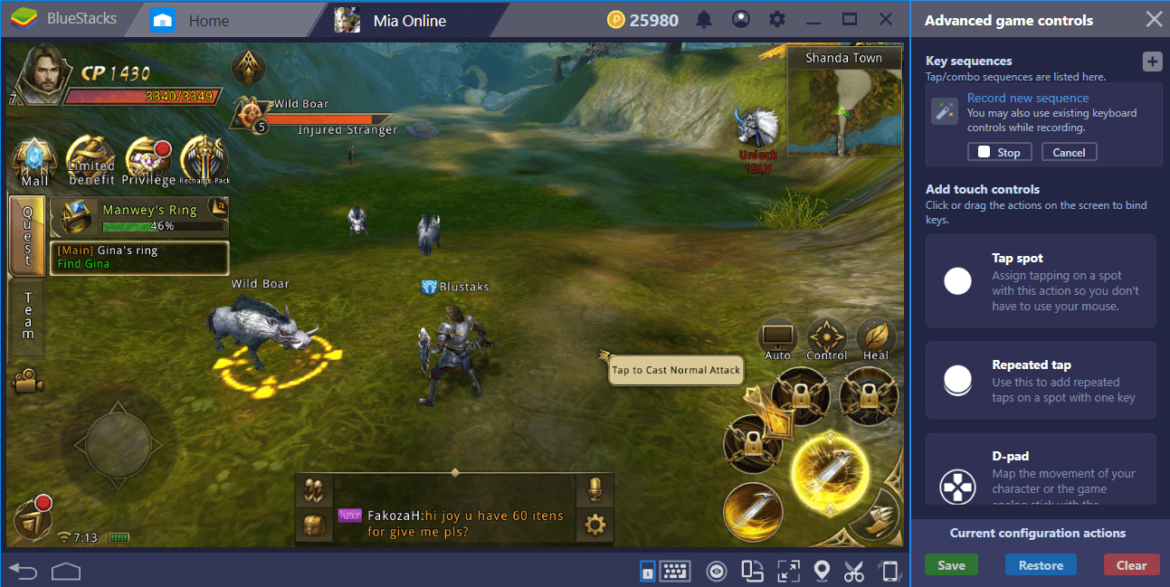 BlueStacks Setup Guide For Mia Online: How To Save The World