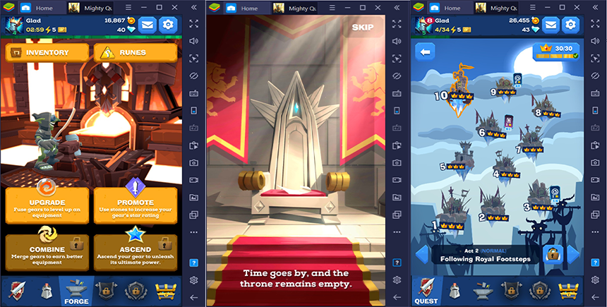 BlueStacks Review of Mighty Quest for Epic Loot on PC