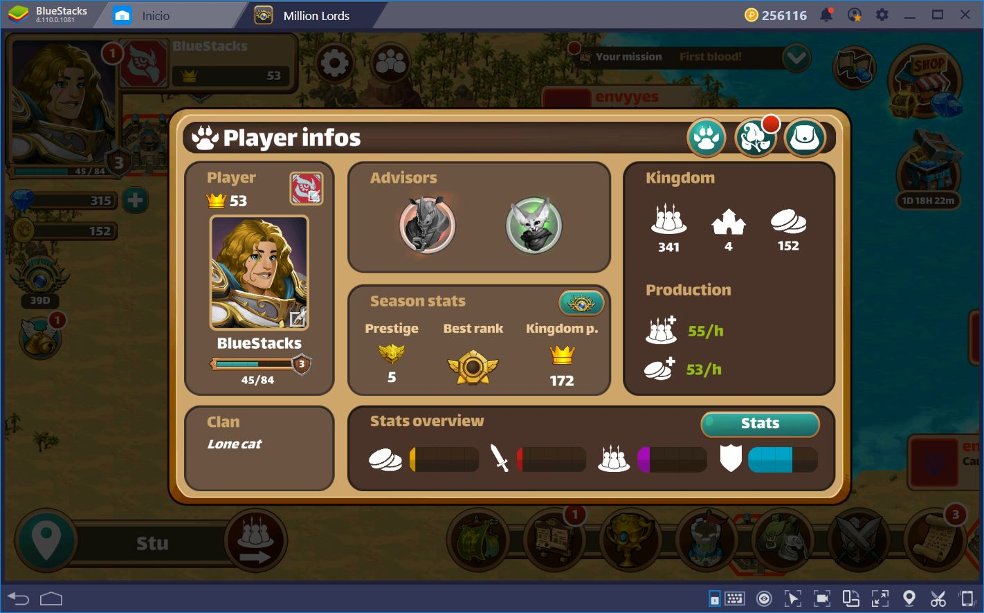 Conquer Your Foes: A Beginner's Guide to Million Lords on BlueStacks