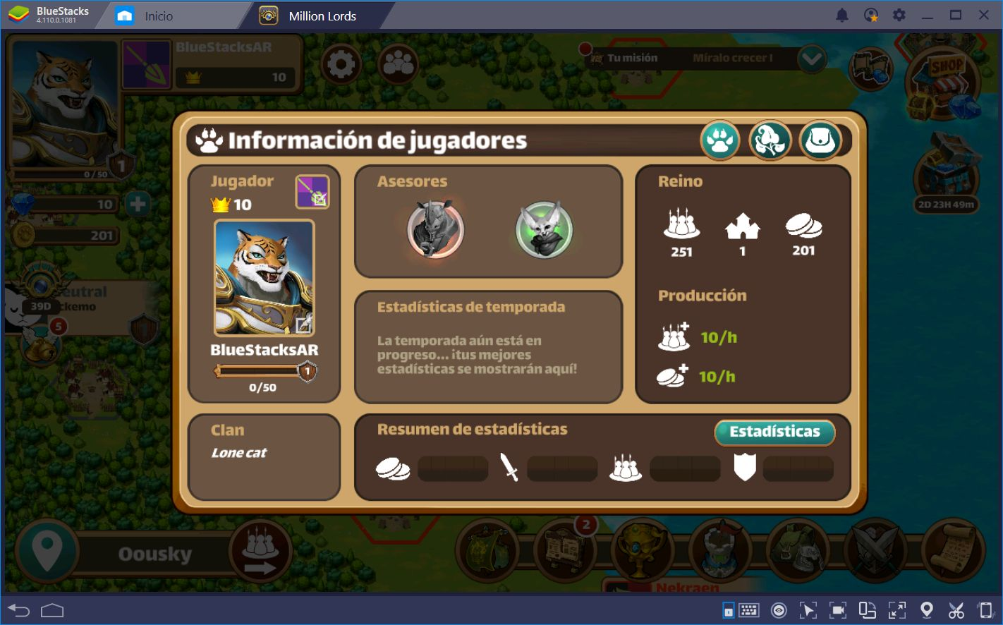 Million Lords en BlueStacks: Jugabilidad de Estrategia, Simplificada
