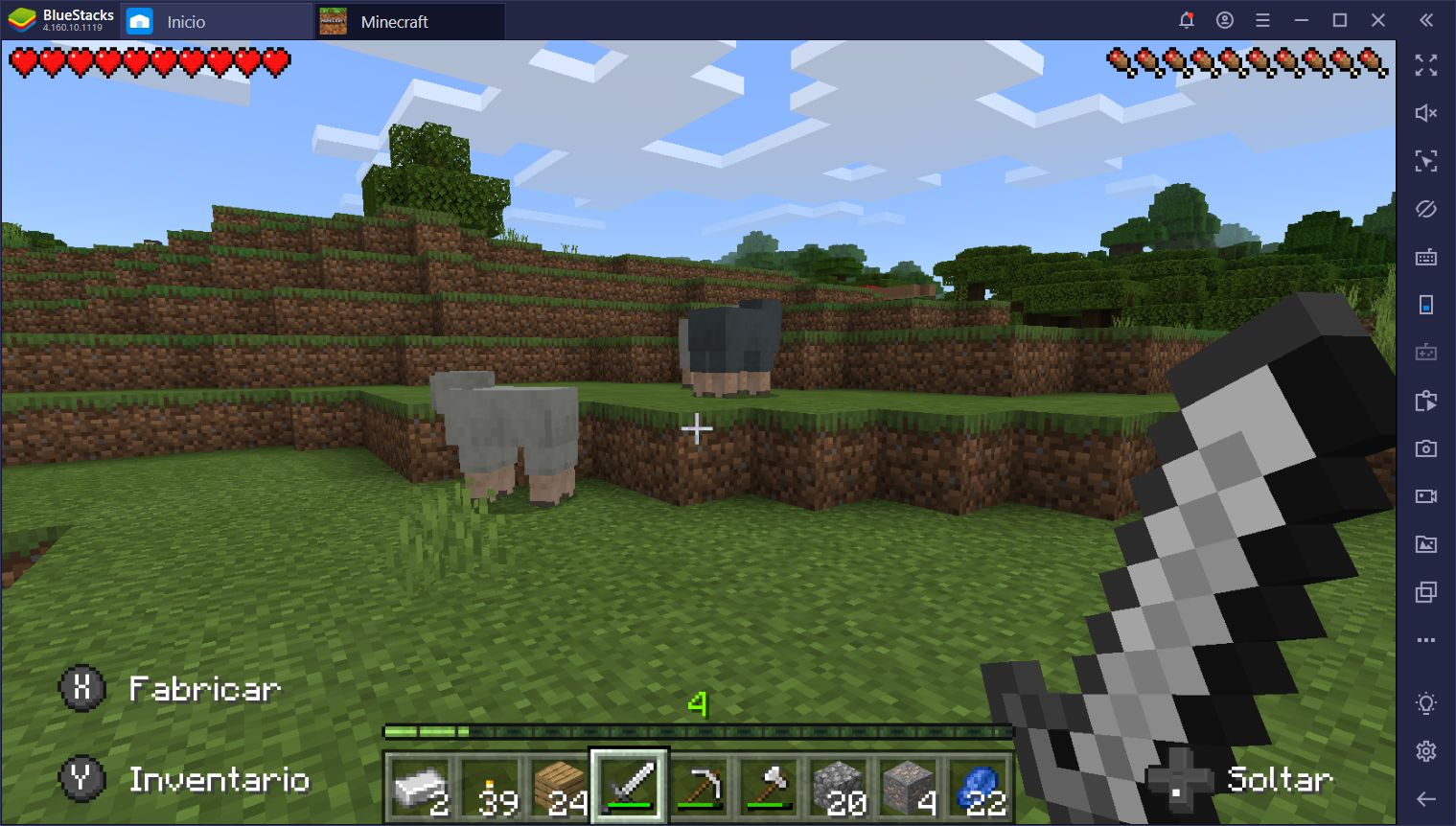 Minecraft ya Está Disponible Para BlueStacks