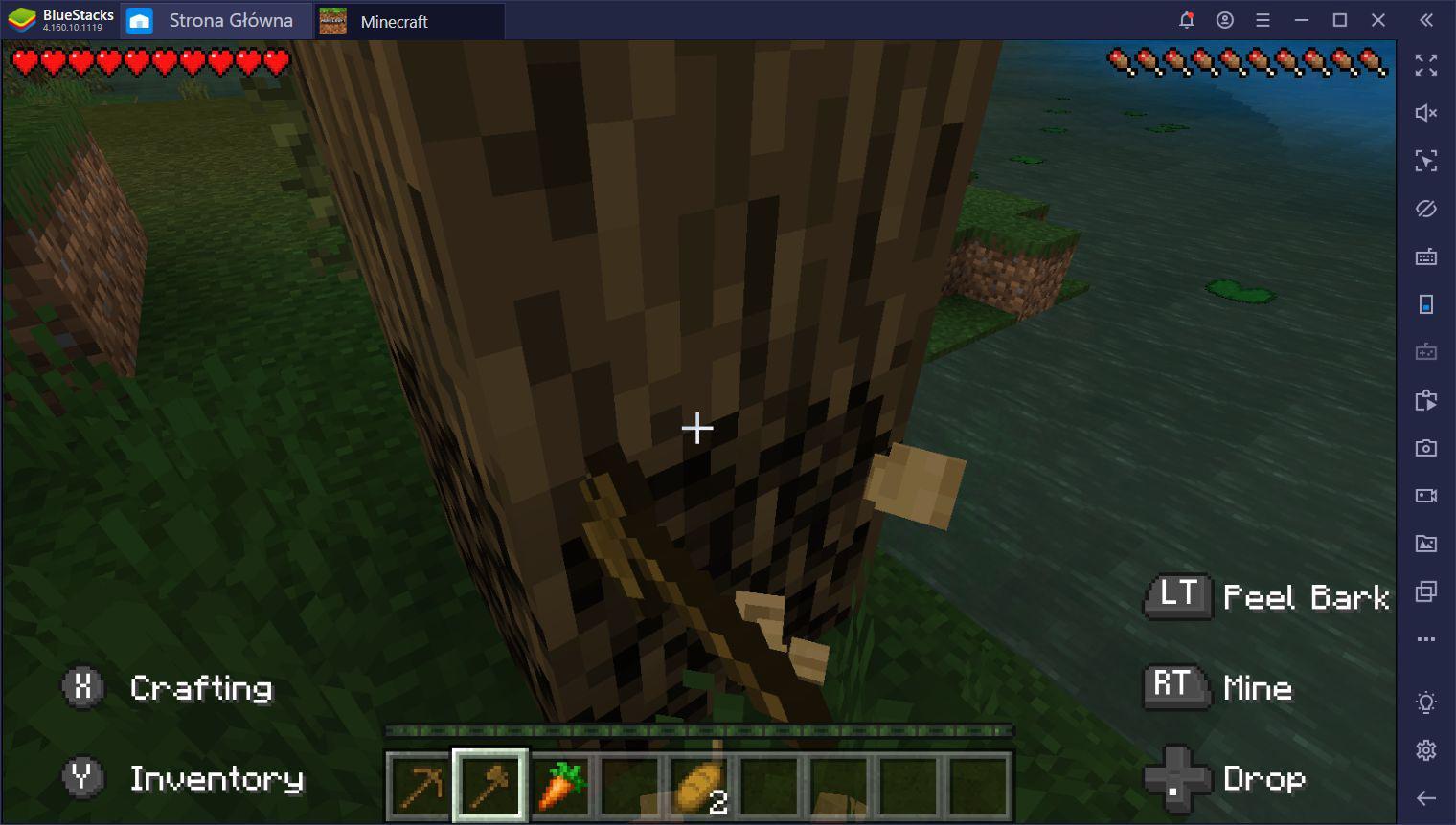 Minecraft jest już dostępny w BlueStacks