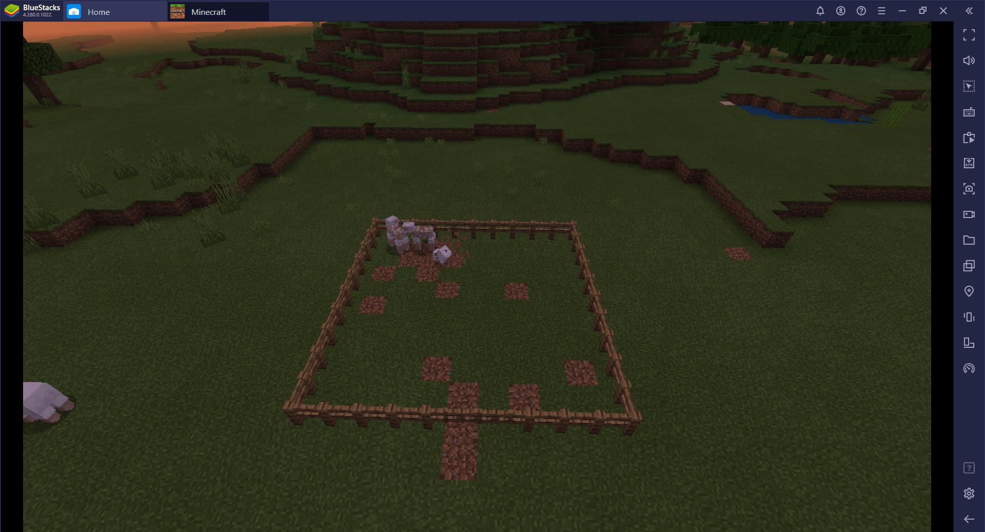 BlueStacks ile Minecraft Çiftlik Kurma Rehberi