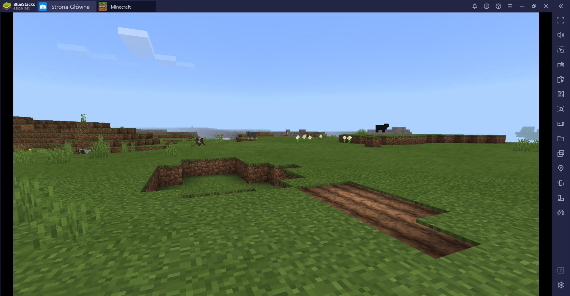 Jak grać w Minecraft na PC z BlueStacks