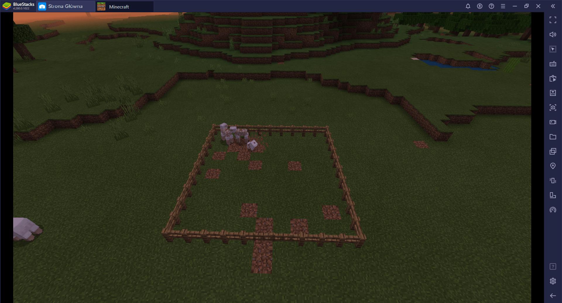 Przewodnik BlueStacks:hodowla zwierząt w Minecraft