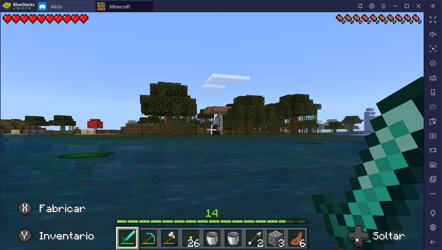 Minando en Minecraft - Cómo Recolectar Materiales y Mantenerte Vivo en el Proceso