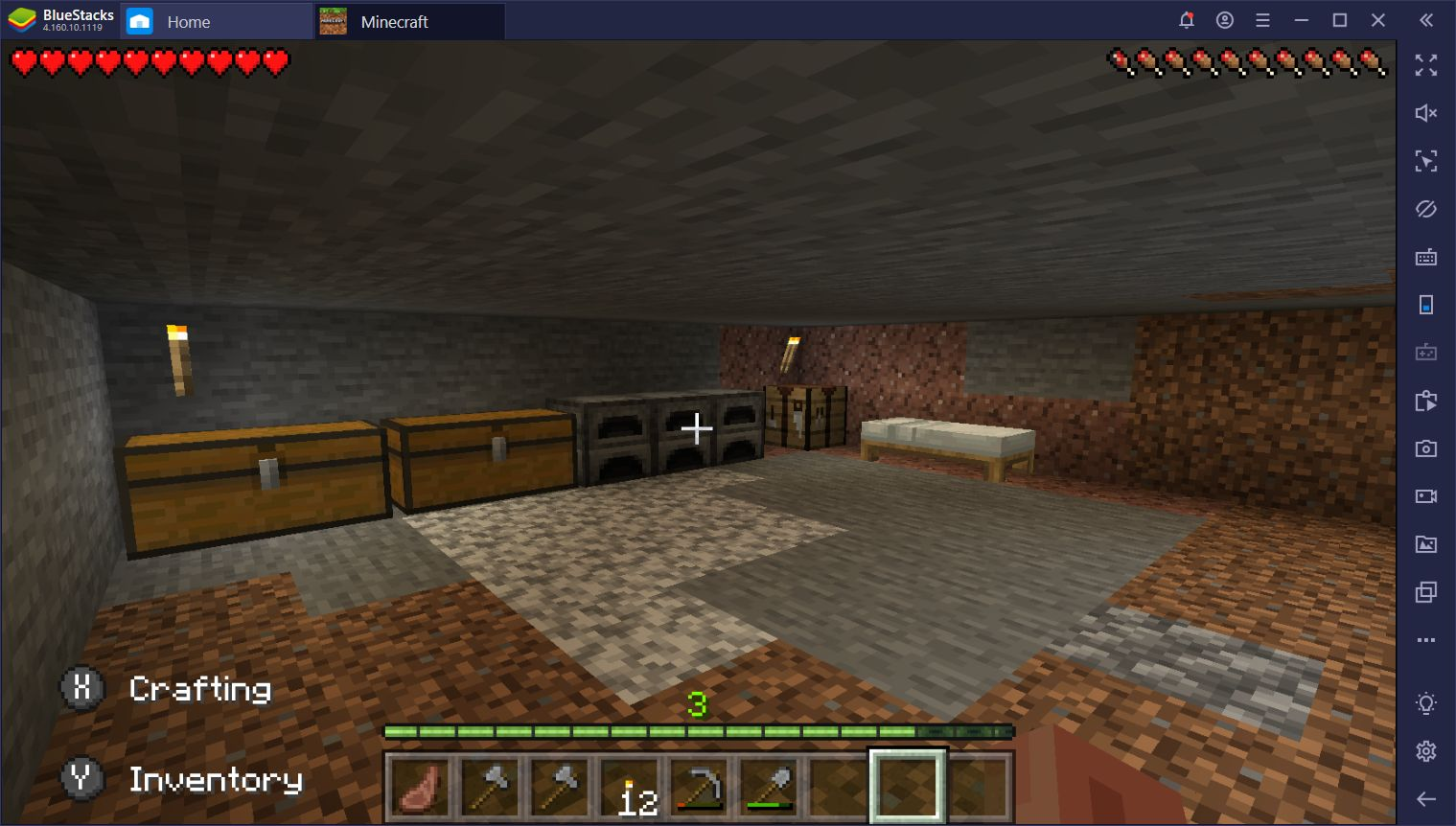 Minecraft on PC Survival Mode - How to Survive the First Day and Set Up a Base