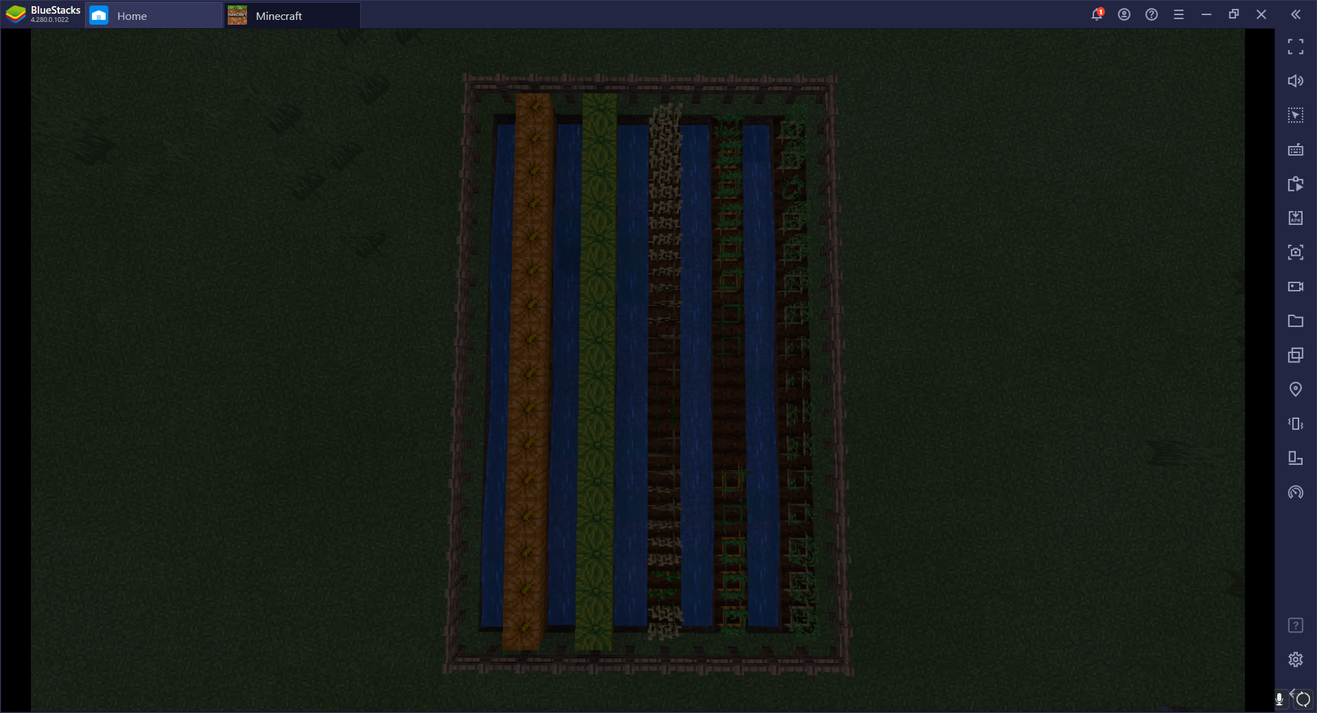How to Build a Vegetable and Fruit Farm in Minecraft