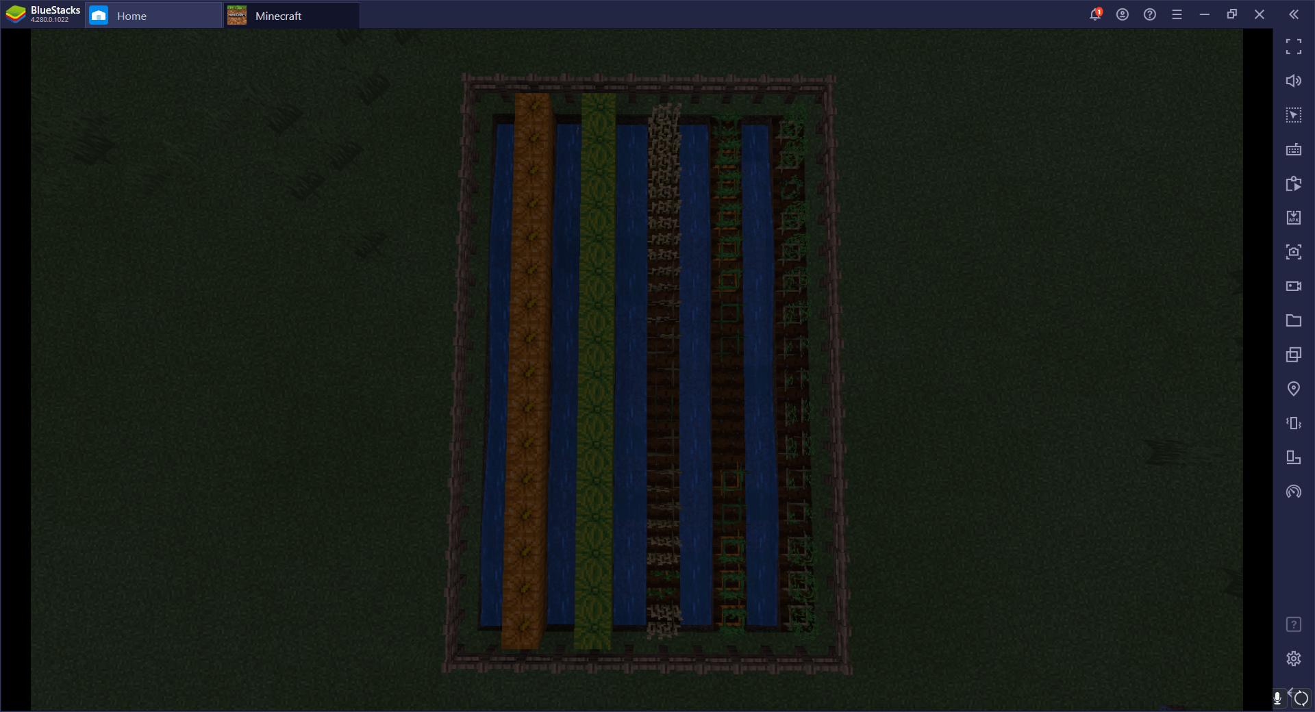 Cómo Construir Una Granja de Vegetales y Frutas en Minecraft