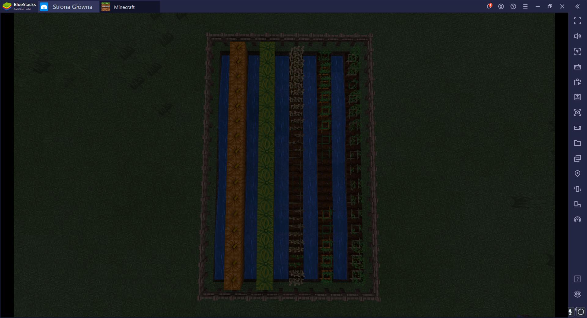 Minecraft – budujemy farmę warzywną