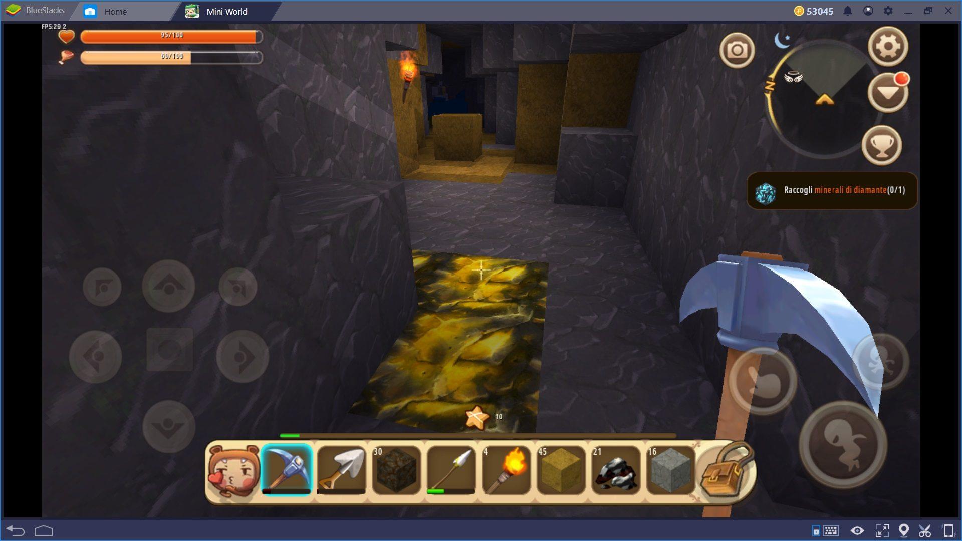 Mini World Block Art: La Guida al Mining