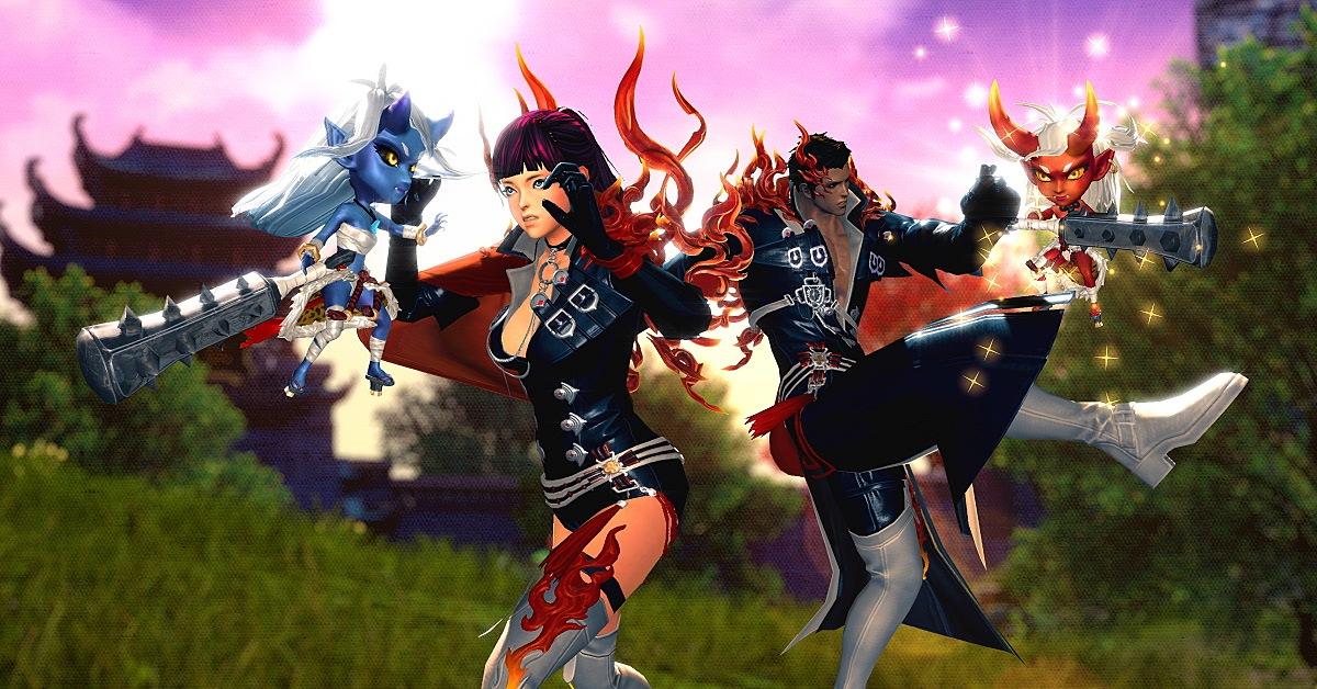 Blade&Soul: Revolution release a flurry of events in Mischief Makers Update