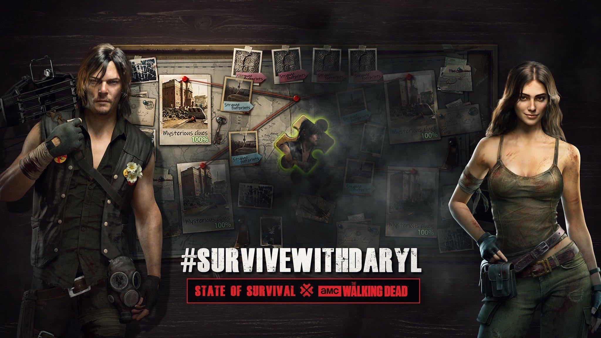 Дэрил из «Ходячих Мертвецов» появился в State of Survival в качестве одного из героев