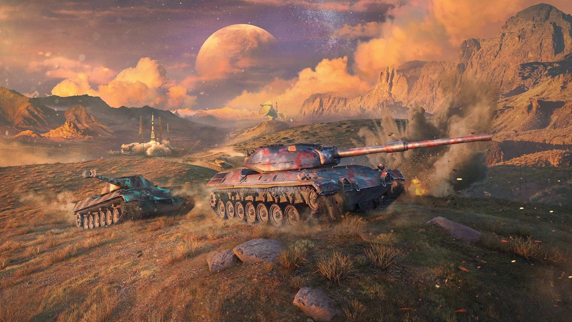 World of Tanks Blitz Forays into Space with Galactic Riches Event