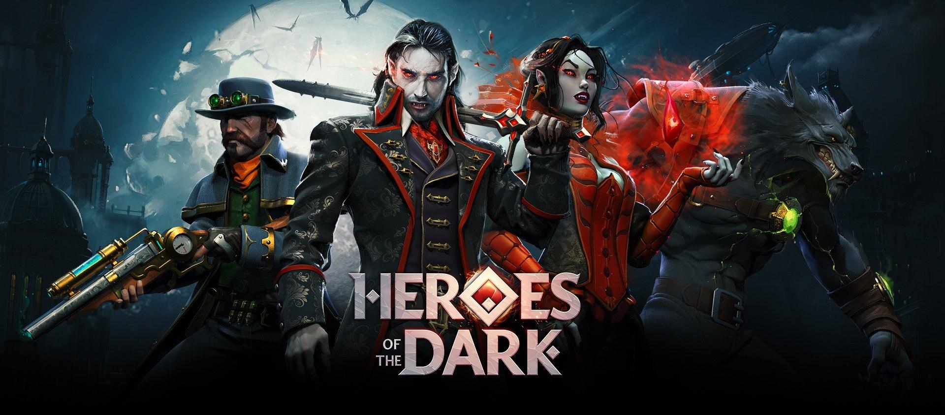 Heroes of the Dark Open Pre-Registrations Ahead of Worldwide Launch