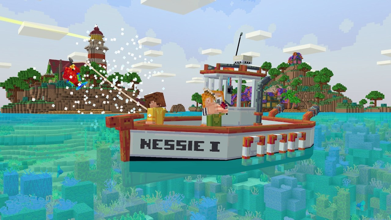Minecraft Seaside Story is the First Map Geared Towards Mobile Users
