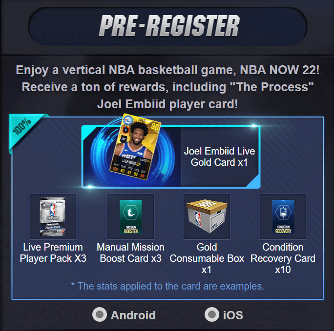 NBA Now 22 Commence Pre-registrations for Android and iOS
